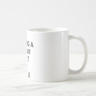 I'm having a bad day I don't want to talk Coffee Mug