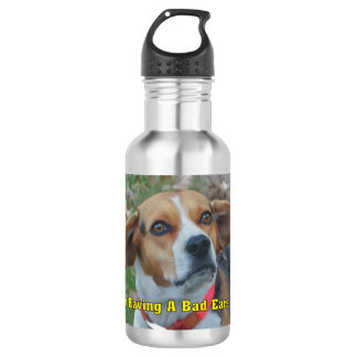 I'm Having a Bad Ears Day Funny Beagle 532 Ml Water Bottle