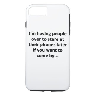 I'm Having People Over iPhone 8 Plus/7 Plus Case