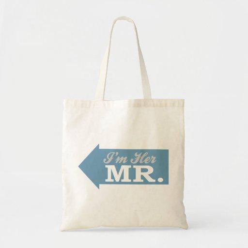 I'm Her Mr. (Blue Arrow) Bags
