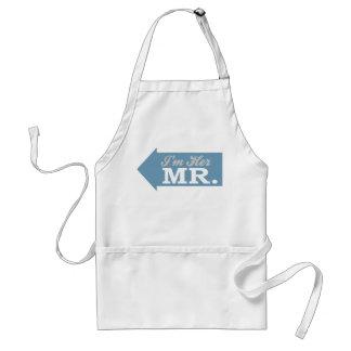 I'm Her Mr. (Blue Arrow) Standard Apron