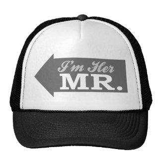 I'm Her Mr. (Gray Arrow) Trucker Hat