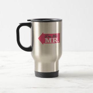 I'm Her Mr. (Hot Pink Arrow) Mugs