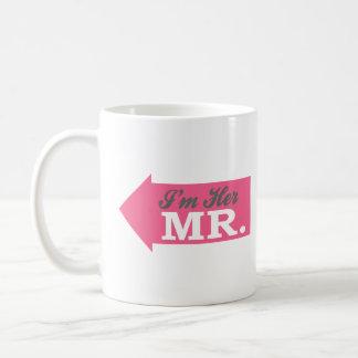I'm Her Mr. (Hot Pink Arrow) Coffee Mug