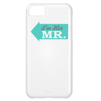 I'm Her Mr. (Teal Arrow) iPhone 5C Case