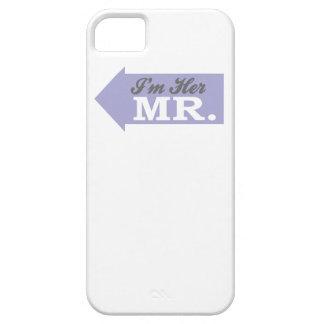 I'm Her Mr. (Violet Arrow) iPhone 5 Cases
