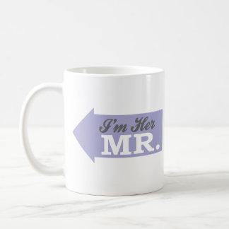 I'm Her Mr. (Violet Arrow) Coffee Mug