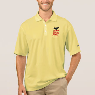 I'm Here For The Boos Polo Shirt