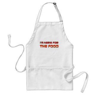 I'm Here For The Food Standard Apron