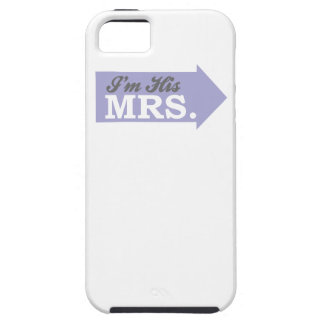 I'm His Mrs. (Violet Purple Arrow) iPhone 5 Cover