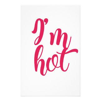 I'm Hot Stationery