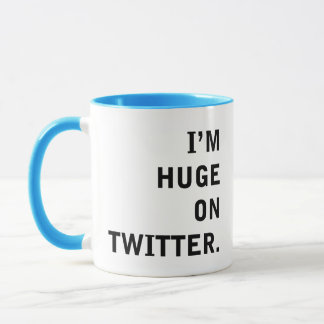 I'm Hudge On Twitter Mug