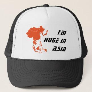 I'm huge in Asia trucker hat