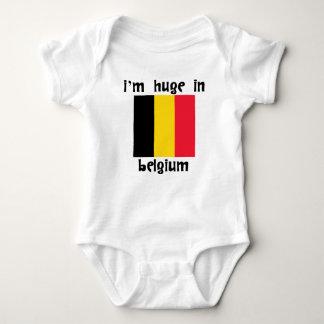 I'm Huge In Belgium Baby Bodysuit