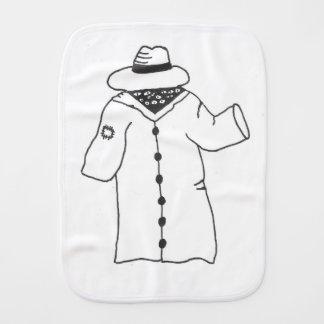I'm Human-- Really! Burp Cloth