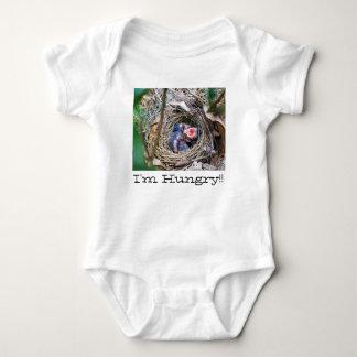 I'm hungry! baby bodysuit