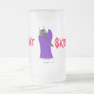 I'm Hungry... Frosted Glass Mug