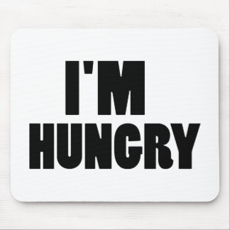 I'm hungry mouse pad