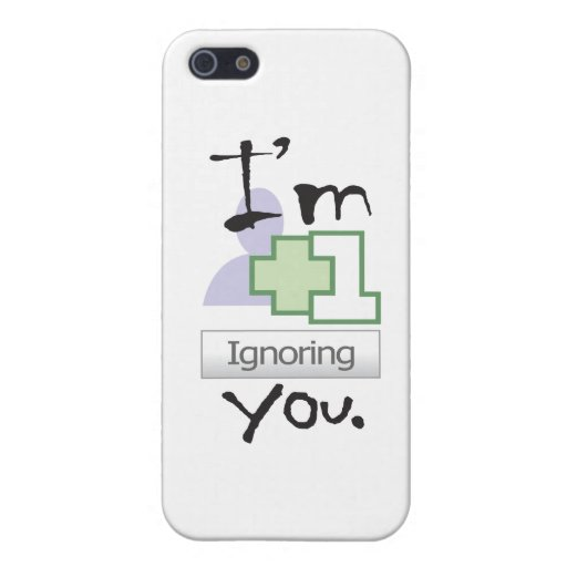 I'm Ignoring You iPhone 4 icase Case For iPhone 5