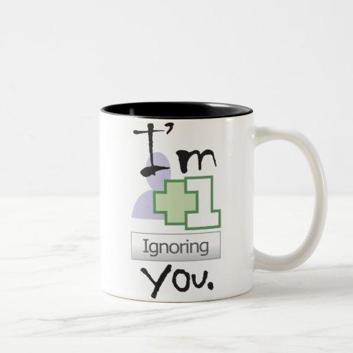 I'm Ignoring You Mug