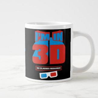 I'm In 3D Large Coffee Mug