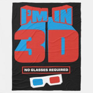 I'm in 3D (No Glasses Required) Fleece Blanket