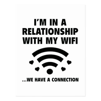 I'm In A Relationship Postcard