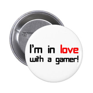 I'm in Love with a Gamer Pins