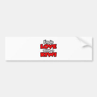 I'm In Love With A Kiwi Bumper Sticker
