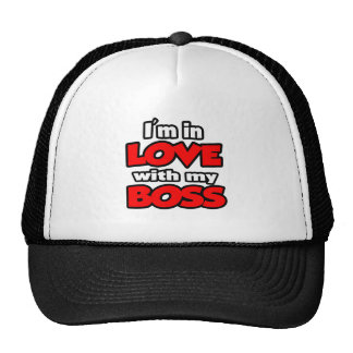 I'm In Love With My Boss Trucker Hat