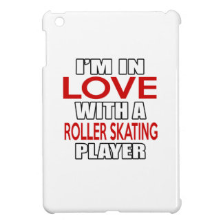 I'm in love with ROLLER SKATING Player iPad Mini Cases