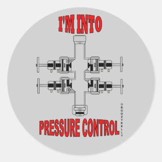 I'm In Pressure Control,Slickline Sticker,BOP,Oil Round Sticker