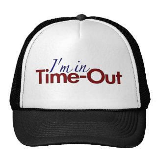 I'm in Timeout (boys) Cap