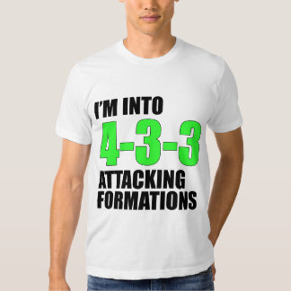 I'm Into 4-3-3 Attacking Formations Tee Shirt