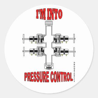 I'm Into Pressure Control,BOP Sticker,Oil,Gas,Rig Round Sticker