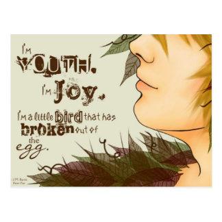 I'm Joy Postcard