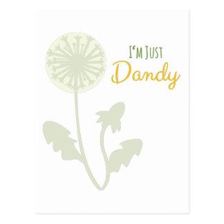 Im Just Dandy Postcard