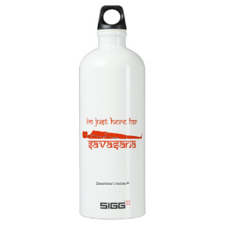 I'm Just Here for Savasana - The Chakra Series SIGG Traveller 1.0L Water Bottle