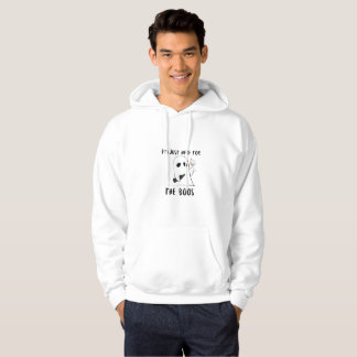 I'm Just Here For The Boos Wine Halloween Party Hoodie