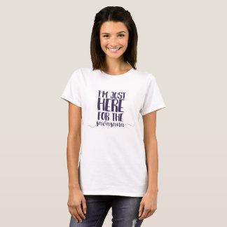 I'm just here for the savasana. T-Shirt