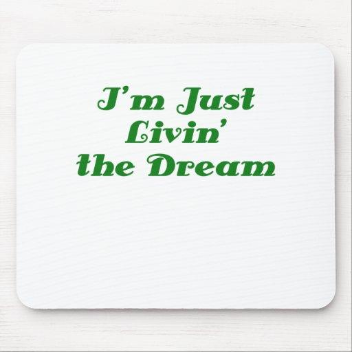 Im Just Livin the Dream Mousepad