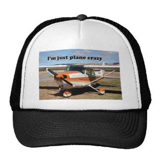 I'm just plane crazy: Cessna aircraft Mesh Hats