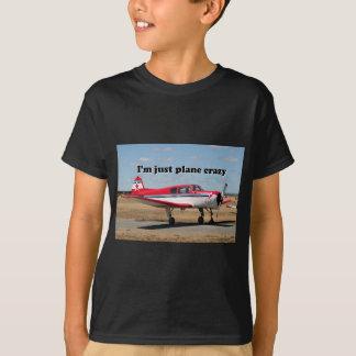 I'm just plane crazy: Yak aircraft Tshirt