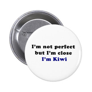 I'm Kiwi 6 Cm Round Badge