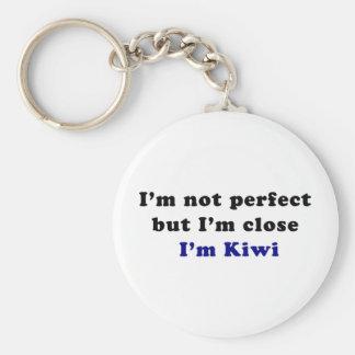I'm Kiwi Basic Round Button Key Ring