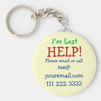I'm Lost Keychain