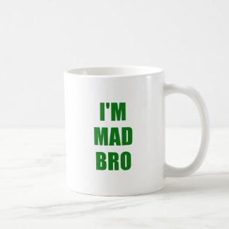 Im Mad Bro Basic White Mug