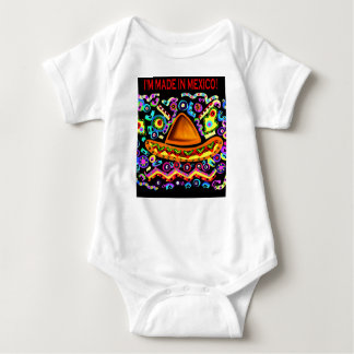 I'M MADE IN MEXICO BABY BODYSUIT