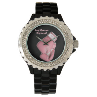 I'm Mama Strong! Wristwatches