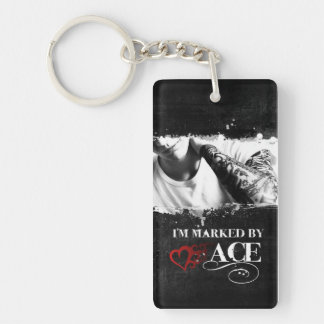 I'm Marked Keychain: Ace Key Ring